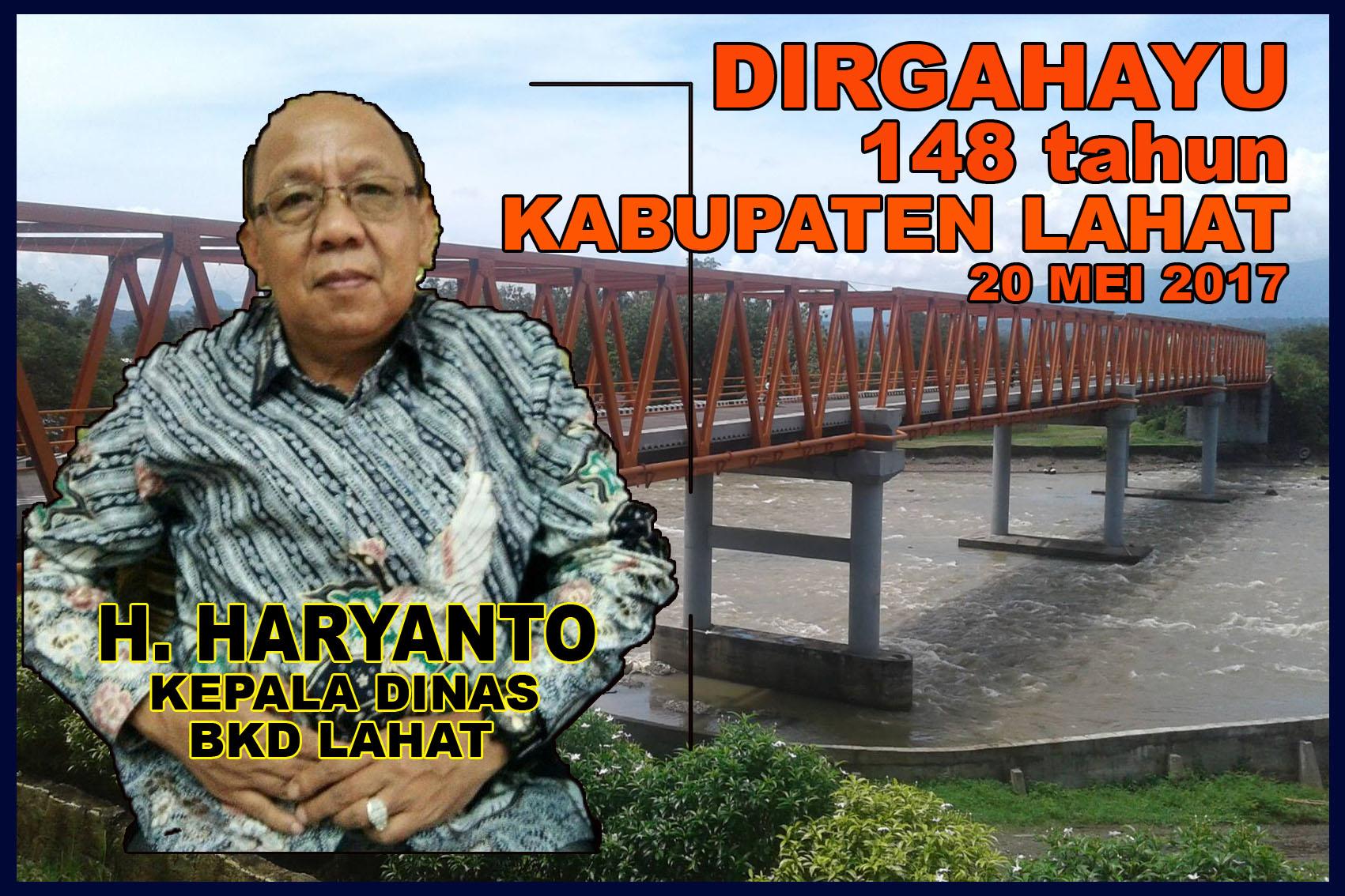 HARYANTO BKD 148
