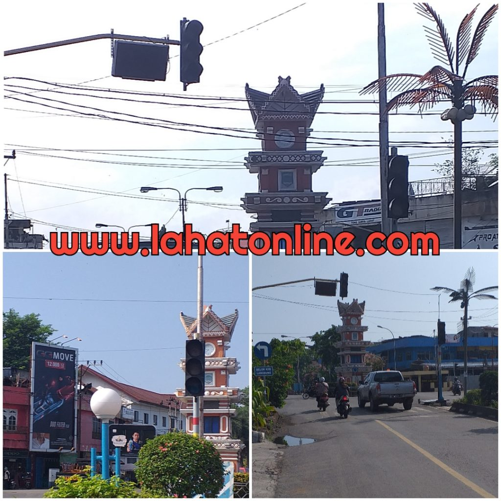 Lahat Line Traffic Light Pasar Lematang Mati Dikhawatirkan