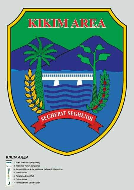 Lahatonline Dob Kikim Area Sudah Siapkan Logo Kabupaten Lahat Online